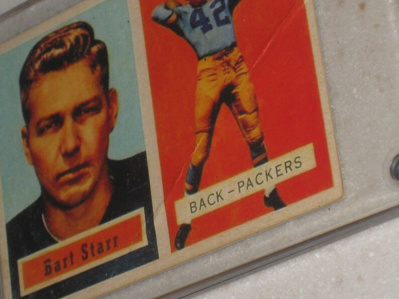 1957 Topps Bart Starr Rookie Awesome Vg Card