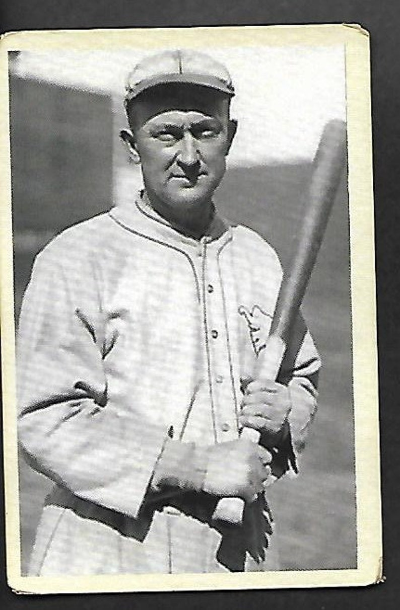 Vintage Ty Cobb Baseball Card