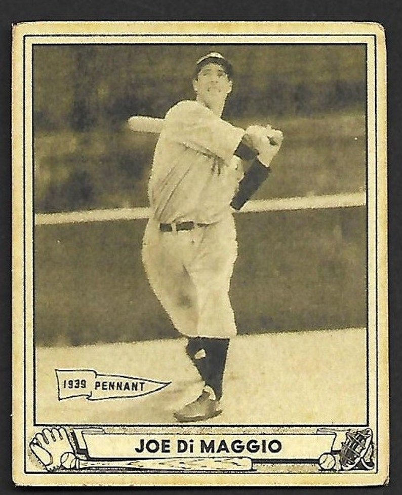 1940 Play Ball Joe Dimaggio 1