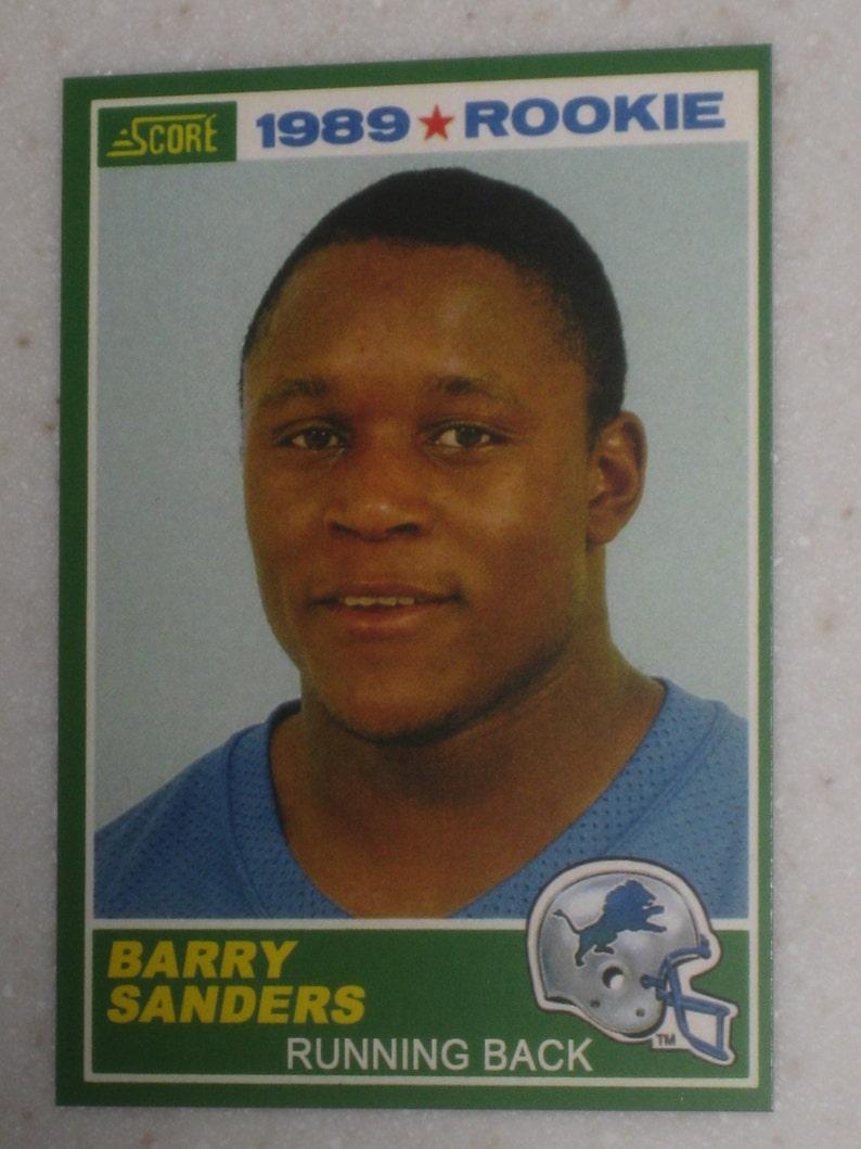 1989 Score Barry Sanders Rookie 257