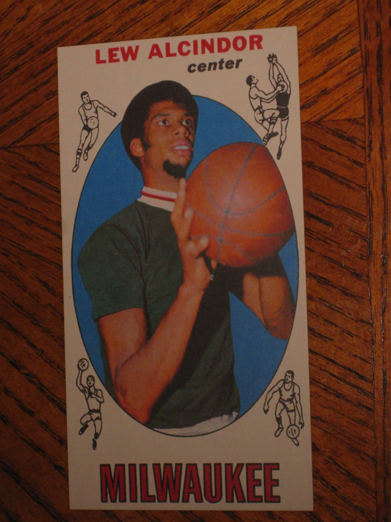 196970 Topps Lew Alcindor Rookie Authentic Looking Card
