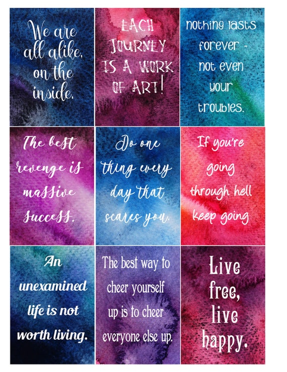 Affirmations Cards