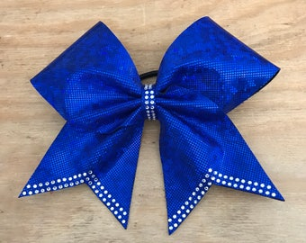 Princess Tail Rhinestone Bow