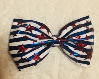 Stars & Stripes Tailless Bow