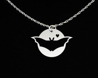 Bat Necklace - Bat Jewelry - Bat Gift