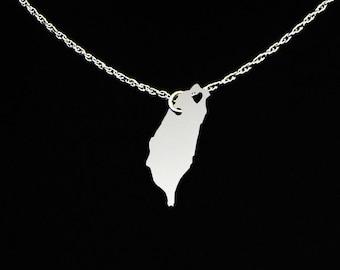 Taiwan Necklace - Taiwan Jewelry - Taiwan Gift