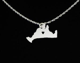 Marthas Vineyard Necklace - Marthas Vineyard Jewelry - Marthas Vineyard Gift