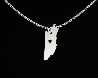 Belize Necklace - Country Necklace - Belize Jewelry - Belize Gift