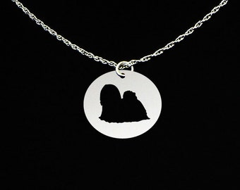 Lhasa Apso Necklace - Lhasa Apso Jewelry - Lhasa Apso Gift