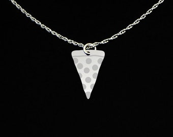 Pizza Necklace - Pizza Gift - Pizza Jewelry