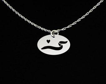 Eel Necklace - Eel Jewelry - Eel Gift