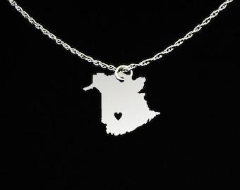 New Brunswick Necklace - New Brunswick Jewelry - New Brunswick Gift