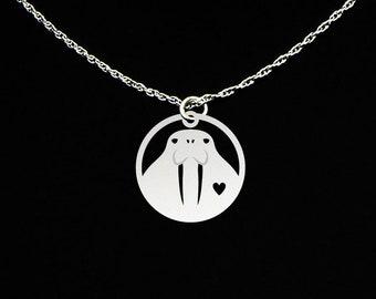 Walrus Necklace - Walrus Jewelry - Walrus Gift