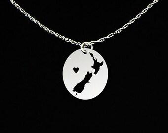 New Zealand Necklace - New Zealand Jewelry - New Zealand Gift