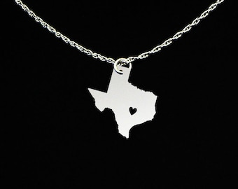 Texas Necklace - Texas Jewelry - Texas Gifts