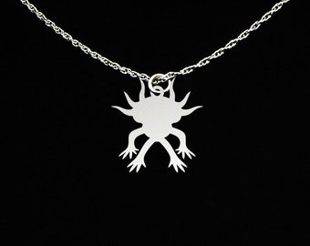 Axolotl Necklace - Axolotl Jewelry - Axolotl Gift
