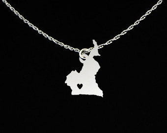 Cameroon Necklace - Cameroon Jewelry - Cameroon Gift