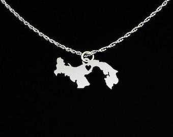 Panama Necklace - Panama Gift - Panama Jewelry