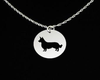 Corgi Necklace Cardigan Welsh - Corgi Gift - Corgi Jewelry