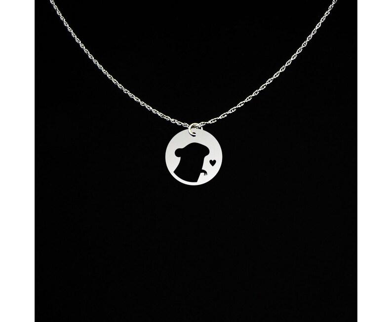Chinchilla Necklace Chinchilla Gift Chinchilla Jewelry Sterling Silver