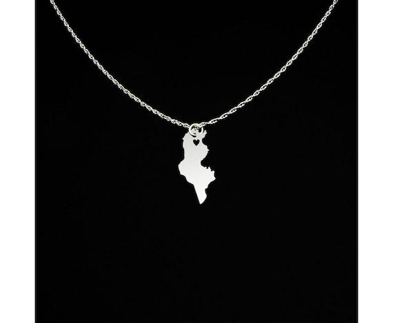 collier argent femme tunisie
