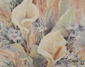 Jane Felts Mauldin. watercolors