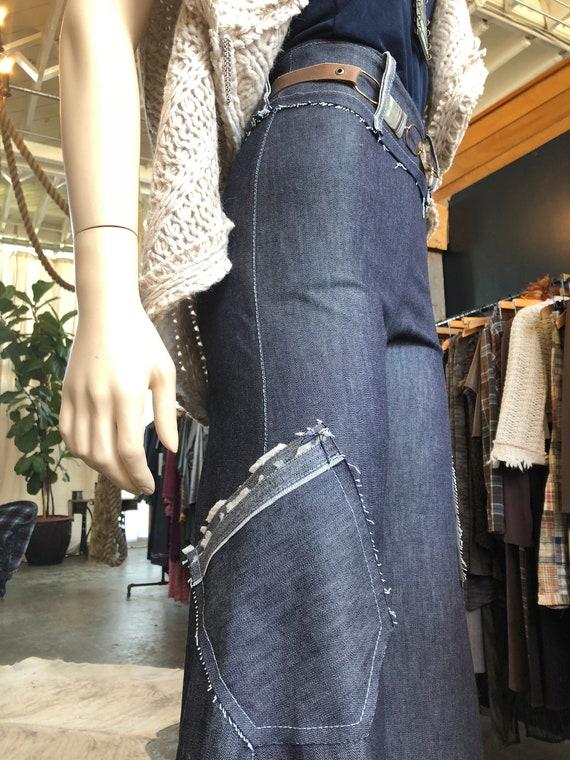 Women's Denim Flair pant by Rebecca Bruce, P-640D