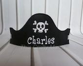 Personalized Felt Pirate Hat