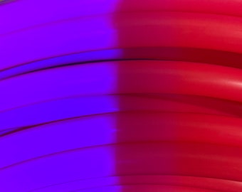 Red 34 HDPE Dance /& Exercise Hula Hoop COLLAPSIBLE push button or minis cherry rouge