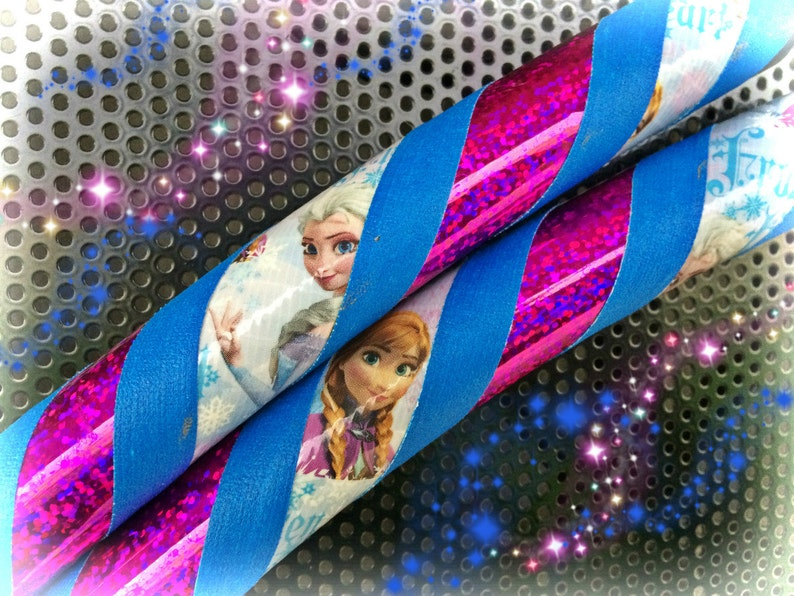 e6715ef564cc Anna Frozen Dance   Exercise Hula Hoop COLLAPSIBLE Polypro