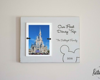 Disney Picture Frame Etsy