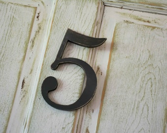 Family Number Sign, family sign, number, individual number, gallery wall number, photo prop numbers