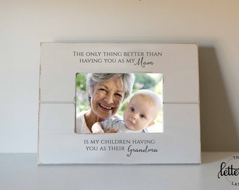 Grandmother frame, Grandma Picture Frame, Mothers day gift, only thing better, children having you as grandma, nana, mimi,