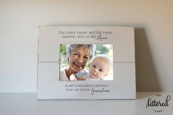Grandmother frame Grandma Picture Frame Mothers day gift | Etsy