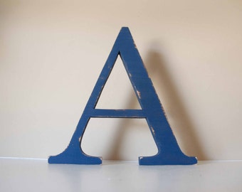 "Nursery Letter- Baby Name, Wood Letter, 14"" tall"