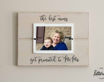 New grandmother picture frame, promoted to grandma, baby announcement picture frame, nana, memaw, grandma frame, mothers day gift