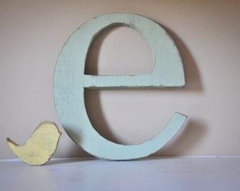 Nursery Wood Letter Monogram Baby Name, Individual Wooden letters for nursery, Baby Monogram, cute nursery decor, baby name letters