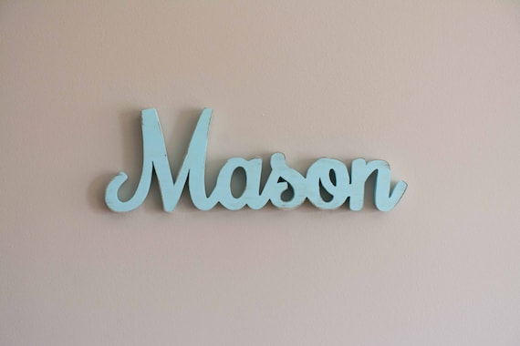Wooden Nursery Baby Name Sign Nursery Letters Wood Letters Etsy