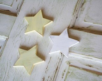 Wood Star Decor, Twinkle Little Star, Nursery Decor