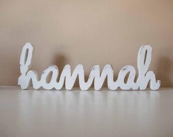 Custom Wood Name, Wood Letters Sign- Nursery, Home Decor, Baby Name