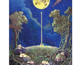 Sleeping Mice Poster by Tony Troy 18x24