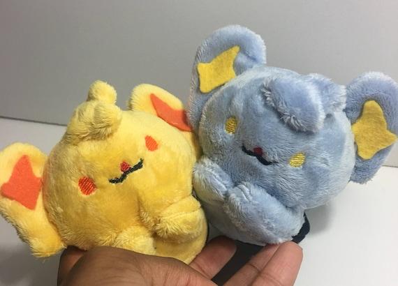 Shinx und glänzenden Shinx Pokemon Mütze ein Pokemon Plüsch   Etsy