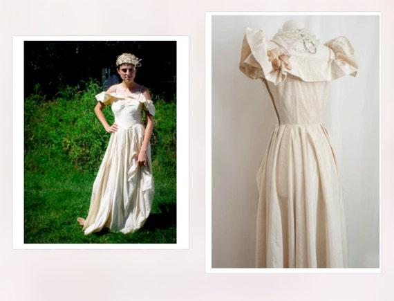 As Seen in VELVET MAGAZINE / 1940s Designer Bridal