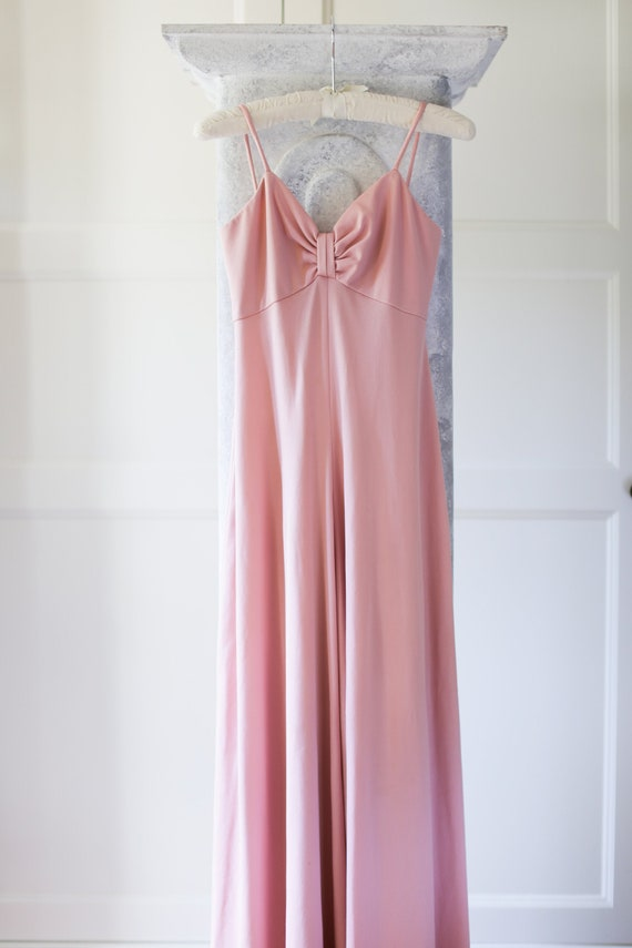 PALAZZO JUMPSUIT - 70's Pink