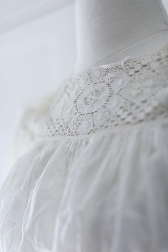 Antique Blouse - XSM | Victorian Edwardian Silk L… - image 4