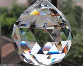 Glass Chandelier Hanging Crystal Ball 40MM (Variety of Colors to choose from)