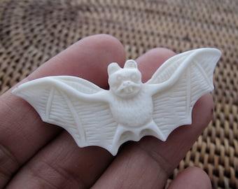 side  Drill G598 Carved little bat Buffalo bone carving