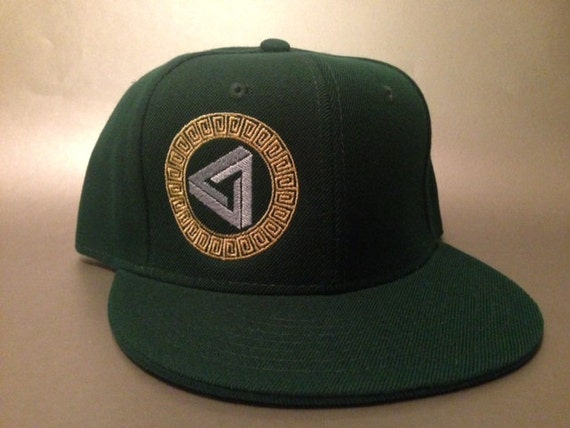 9c17d981acf Crop Triangle Fitted Hat made to order crop circle design FREE