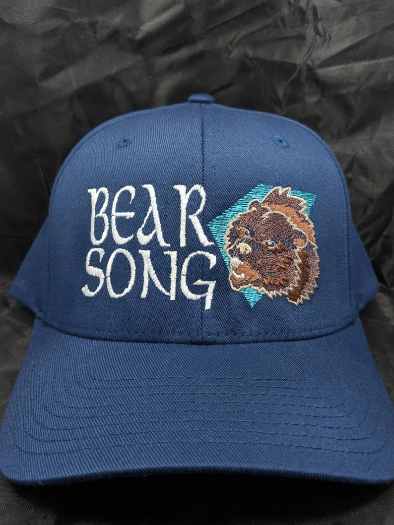 95becbc0bb338 Bear Song Flexfit Hat Moe. Sizes s m l xl xl xxl curved bill