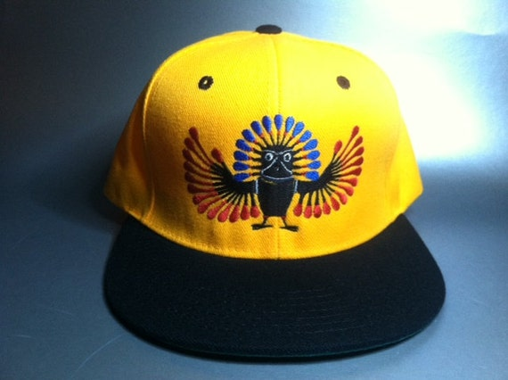 Inca Owl Snapback Hat made to order two tone flat bill FREE  0763ee001136